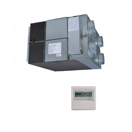 Mitsubishi Electric Air Conditioning LGH-150RX5-E Lossnay Ducted Heat Exchange 1500M3/hr 240V~50Hz